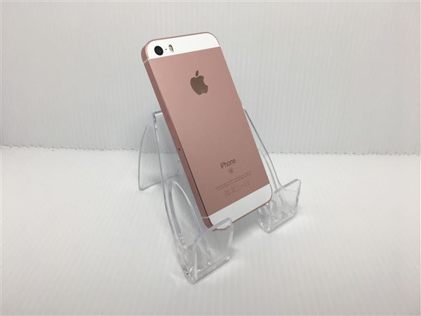 【中古】【安心保証】 docomo iPhoneSE[32G] ローズゴールド SIMロック解除済
