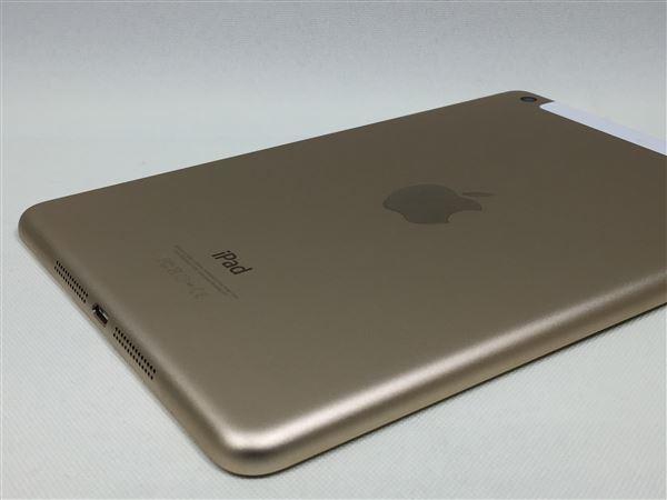 【中古】【安心保証】 au iPadmini-7.9_3[WiFi+4G 64] ゴールド