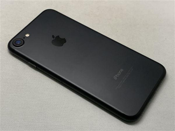 【中古】【安心保証】 SoftBank iPhone7[128G] ブラック SIMロック解除済