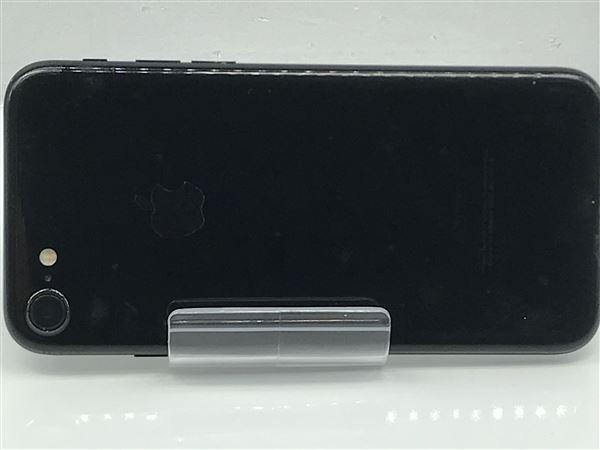 【中古】【安心保証】 SoftBank iPhone7[128G] ジェットブラック SIMロック解除済