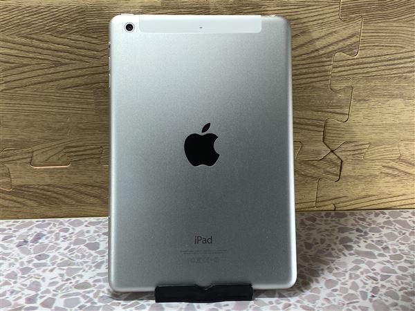 【中古】【安心保証】 SoftBank iPadmini-7.9_2[セルラー16G] シルバー