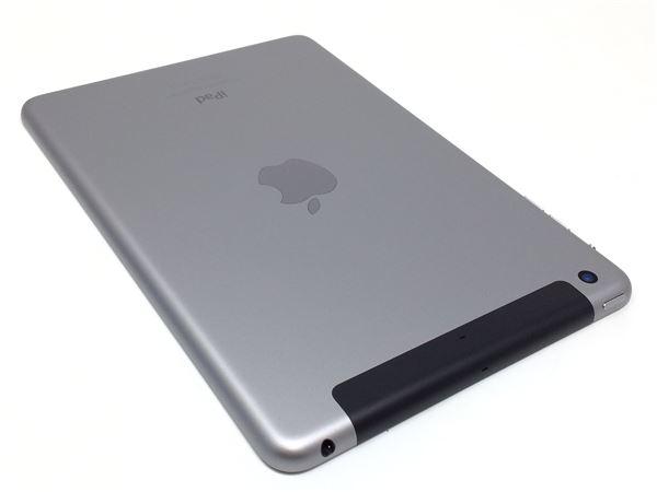 【中古】【安心保証】 au iPadmini-7.9_3[WiFi+4G 16] グレイ