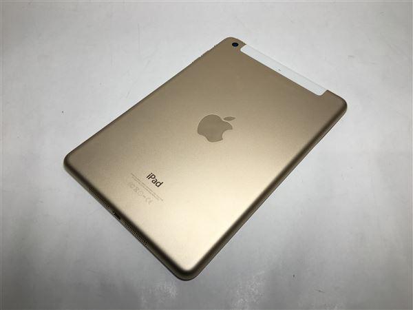 【中古】【安心保証】 docomo iPadmini-7.9_3[WiFi+4G 16] ゴールド