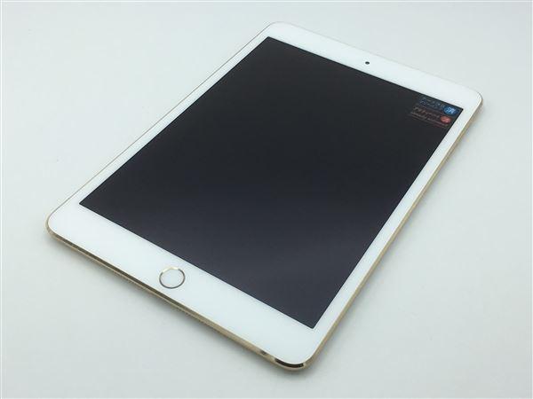 【中古】【安心保証】 iPadmini-7.9_3[WiFi 16] ゴールド