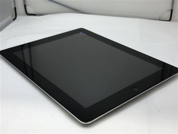 【中古】【安心保証】 iPad3 16GB Wi-Fiモデル ブラック