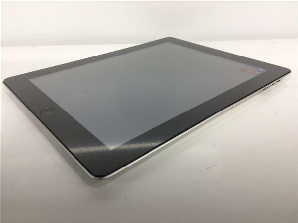 【中古】【安心保証】 SoftBank iPad-9.7_4[セルラー128G] ブラック