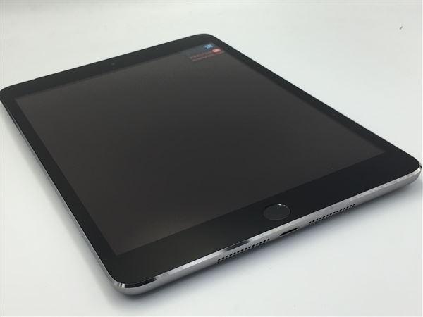 【中古】【安心保証】 docomo iPadmini-7.9_3[WiFi+4G 64] グレイ