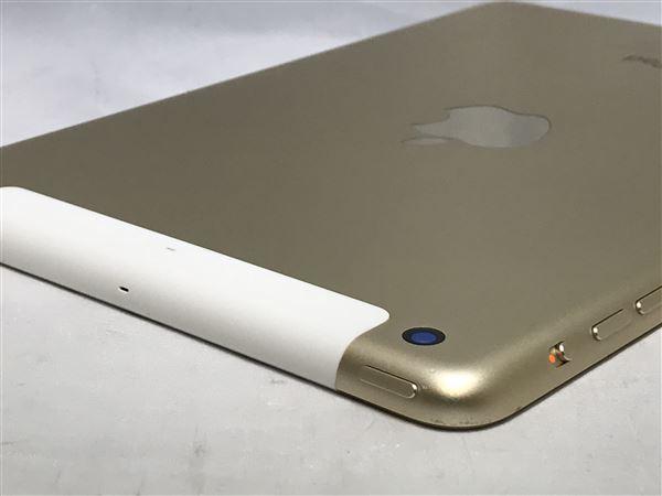 【中古】【安心保証】 SoftBank iPadmini-7.9_3[WiFi+4G 64] ゴールド
