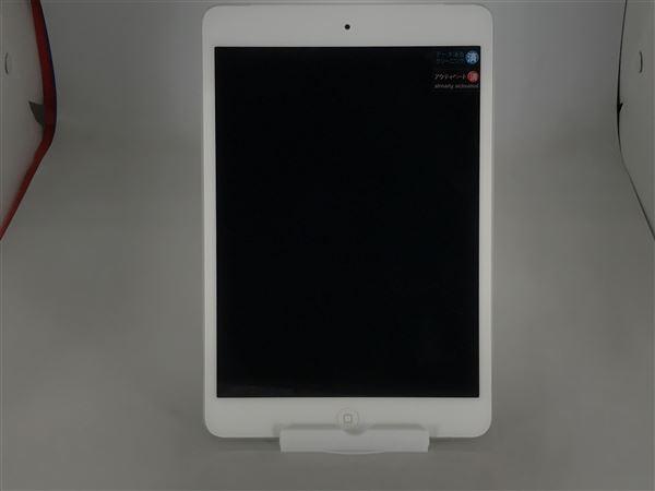 【中古】【安心保証】 docomo iPadmini-7.9_2[セルラー32G] シルバー