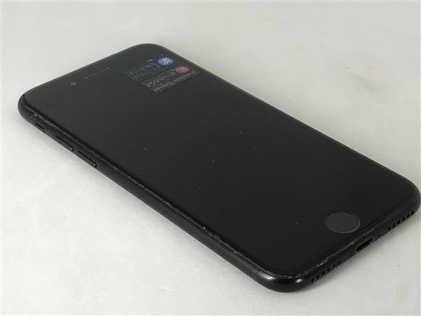 【中古】【安心保証】 UQモバイル iPhone7[128G] ブラック SIMロック解除済