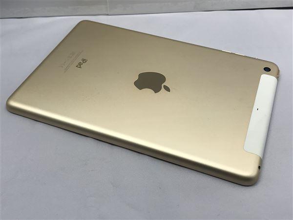【中古】【安心保証】 docomo iPadmini-7.9_3[WiFi+4G 64] ゴールド