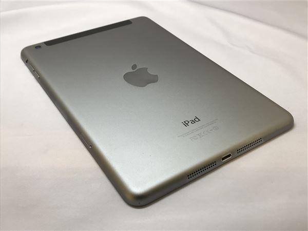 【中古】【安心保証】 au iPadmini-7.9_2[セルラー16G] グレイ