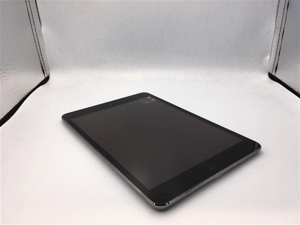 【中古】【安心保証】 au iPadmini-7.9_2[セルラー128G] グレイ