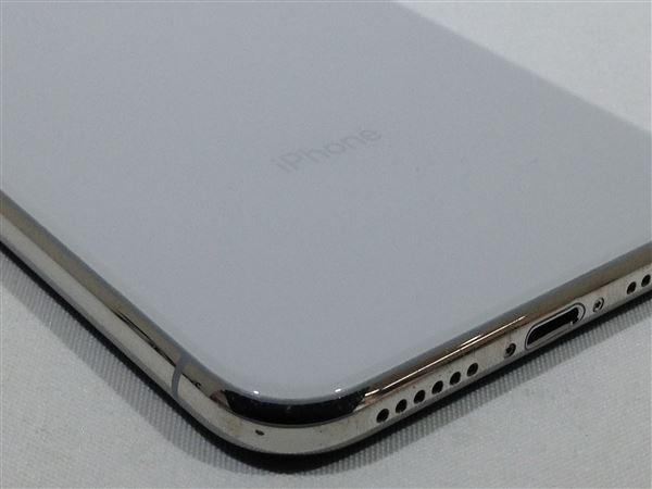 【中古】【安心保証】 SoftBank iPhoneXS[64G] シルバー SIMロック解除済