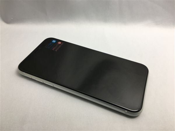 【中古】【安心保証】 SIMフリー iPhoneXR[64G] ホワイト