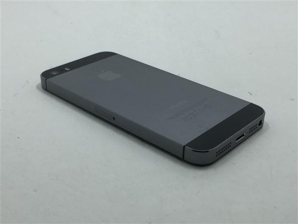 【中古】【安心保証】 Y!mobile iPhone5s[32Gーy] スペースグレイ