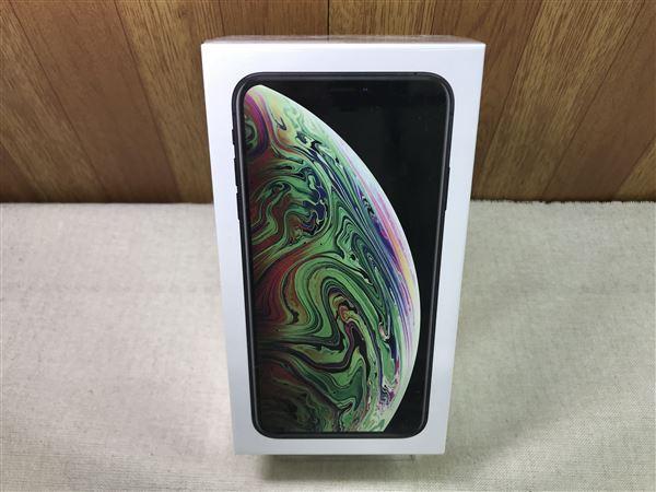 【中古】【安心保証】 iPhoneXSMax[64G-A2104]★香港版 SIMフリー★【デュアルSIM】グレイ