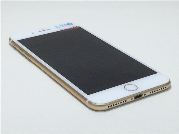 【中古】【安心保証】 docomo iPhone7Plus[256G] ゴールド SIMロック解除済