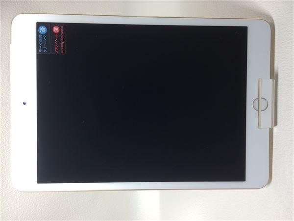 【中古】【安心保証】 SoftBank iPadmini-7.9_3[WiFi+4G 128] ゴールド