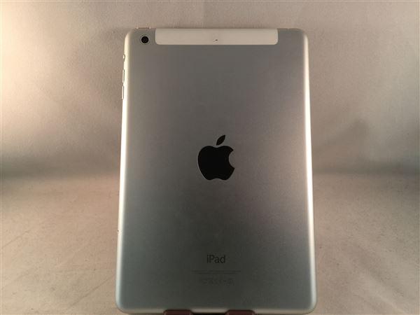 【中古】【安心保証】 au iPadmini-7.9_2[セルラー32G] シルバー