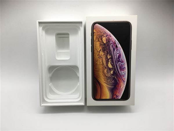 【中古】【安心保証】 SoftBank iPhoneXS[64G] ゴールド