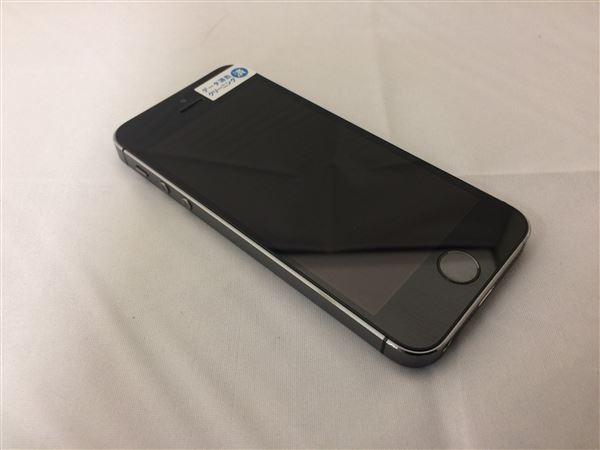 【中古】【安心保証】 SoftBank iPhone5s[32GB] スペースグレイ