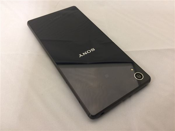 【中古】【安心保証】 SoftBank 402SO_XperiaZ4 ブラック