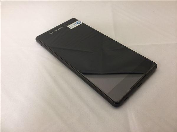 【中古】【安心保証】 SoftBank 402SO_XperiaZ4 ブラック