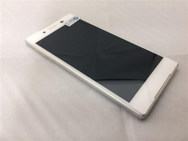 【中古】【安心保証】 SoftBank XperiaZ5_501SO ホワイト