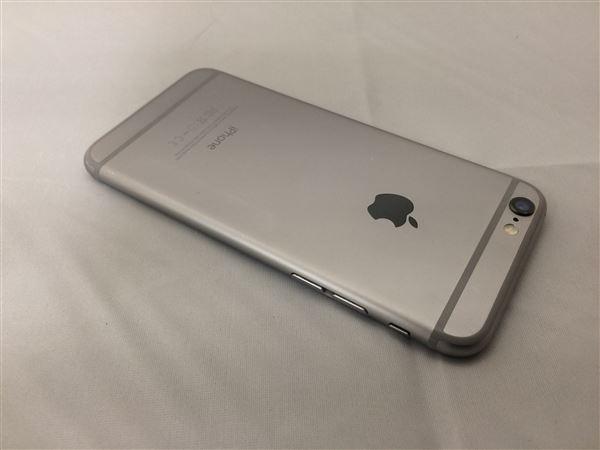 【中古】【安心保証】 SoftBank iPhone6[64GB] スペースグレイ