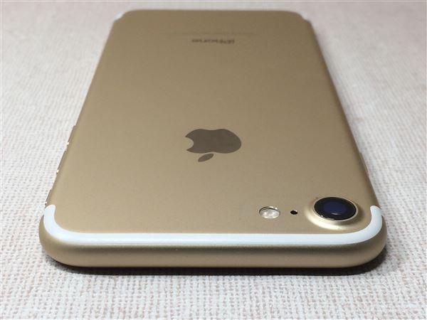 【中古】【安心保証】 UQモバイル iPhone7[128G] ゴールド
