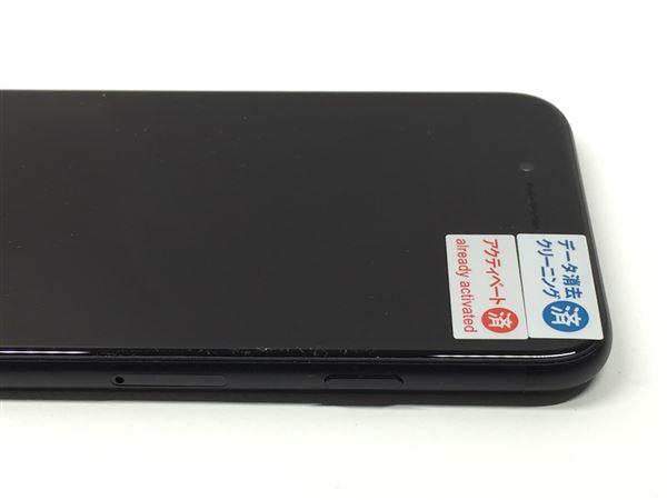 【中古】【安心保証】 SoftBank iPhone7[256G] ブラック
