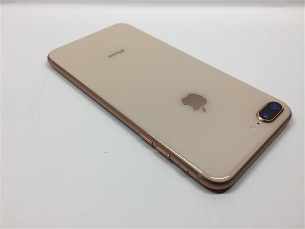 【中古】【安心保証】 au iPhone8Plus[64G] ゴールド SIMロック解除済