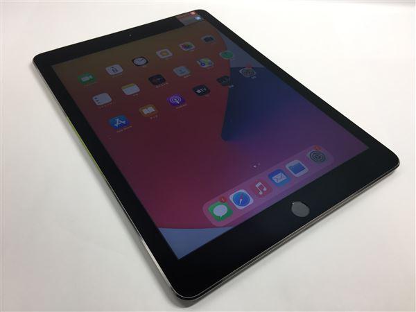 【中古】【安心保証】 docomo iPadAir-9.7_2[16G4G] グレイ