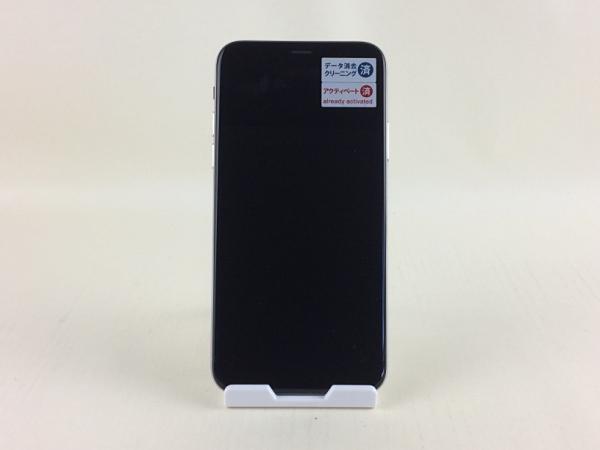 【中古】【安心保証】 SIMフリー iPhoneX[256G] シルバー