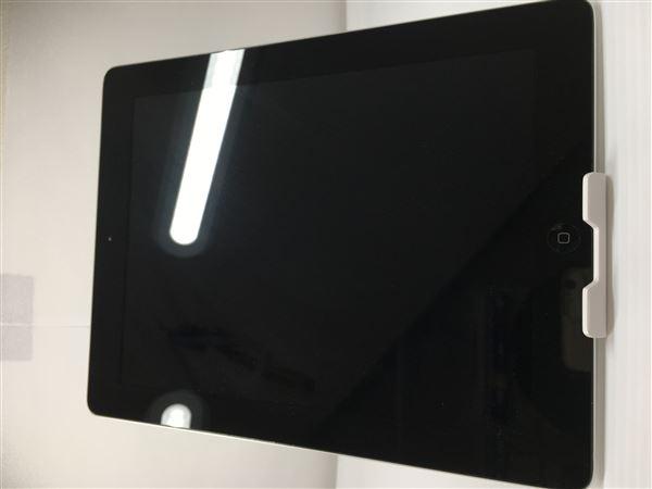 【中古】【安心保証】 au iPad-9.7_4[セルラー16G] ブラック