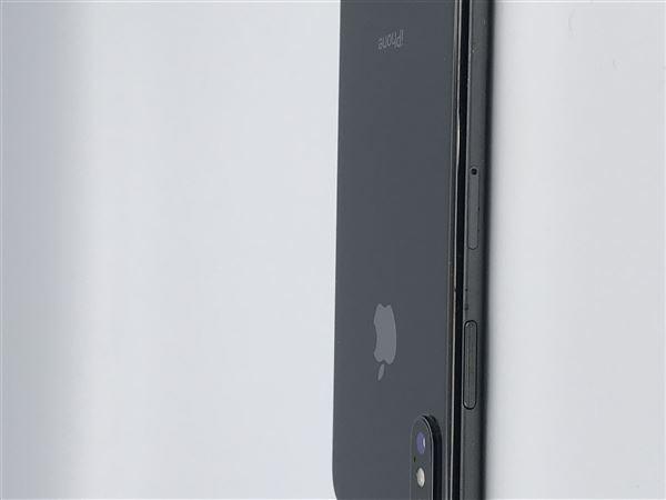 【中古】【安心保証】 SoftBank iPhoneX[64G] スペースグレイ