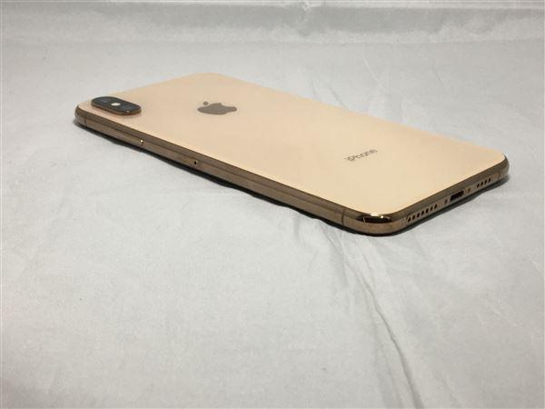 【中古】【安心保証】 docomo iPhoneXSMax[256G] ゴールド