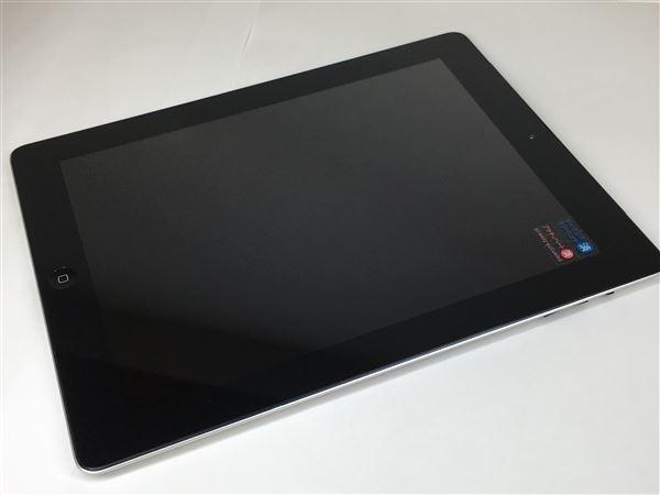 【中古】【安心保証】 SoftBank iPad-9.7_2[16G 3G] ブラック