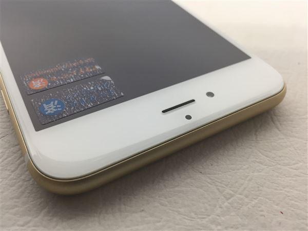 【中古】【安心保証】 SoftBank iPhone6sPlus[32G] ゴールド