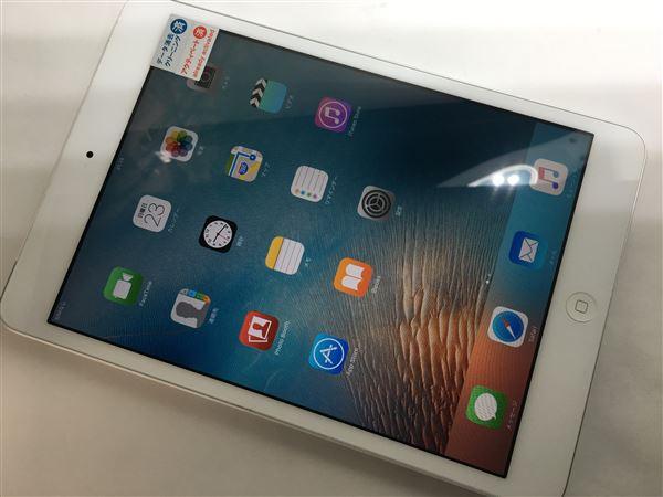 【中古】【安心保証】 au iPadmini1[セルラー16G] ホワイト