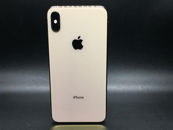【中古】【安心保証】 docomo iPhoneXSMax[64G] ゴールド