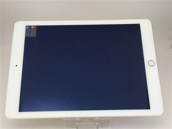 【中古】【安心保証】 docomo iPadAir-9.7_2[32G4G] ゴールド