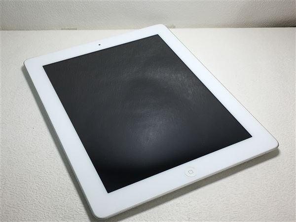 【中古】【安心保証】 au iPad-9.7_4[セルラー32G] ホワイト