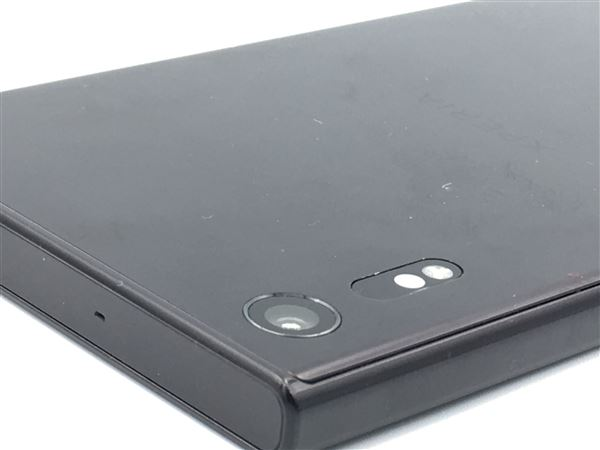 【中古】【安心保証】 SoftBank XperiaXZ 601SO ミネラルブラック