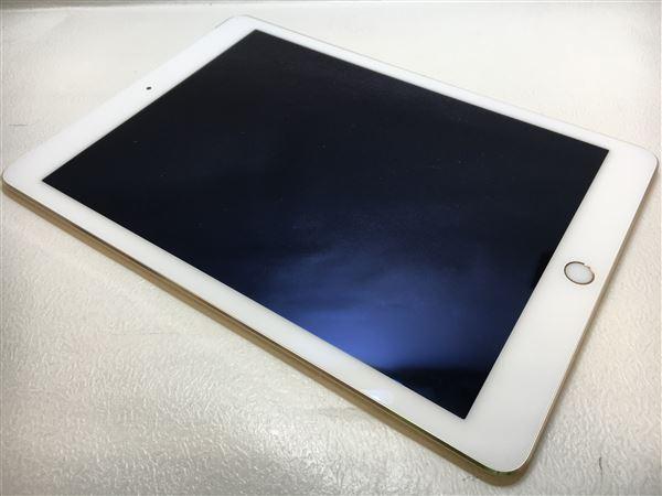 【中古】【安心保証】 iPadAir 9.7インチ 第2世代 16GB セルラー au ゴールド