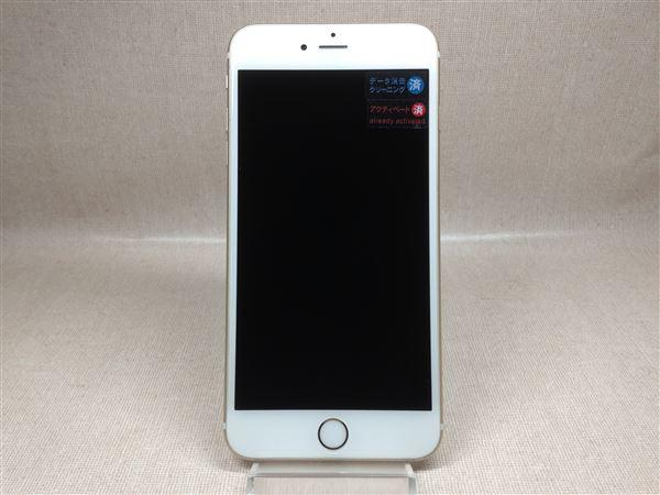 【中古】【安心保証】 au iPhone6sPlus[64G] ゴールド SIMロック解除済