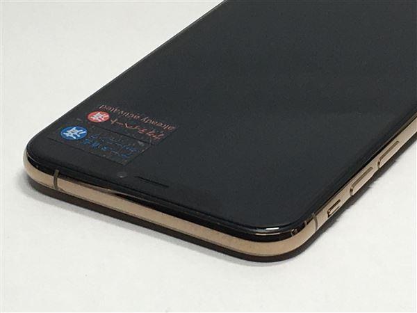 【中古】【安心保証】 SoftBank iPhoneXS[256G] ゴールド SIMロック解除済
