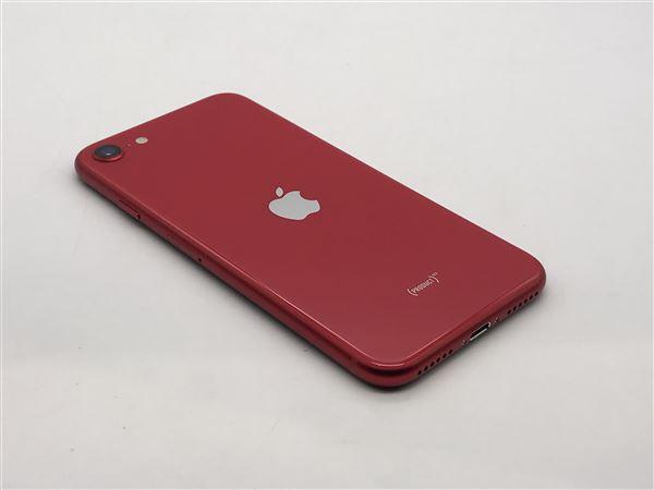 【中古】【安心保証】 SoftBank iPhoneSE 2[64G] レッド
