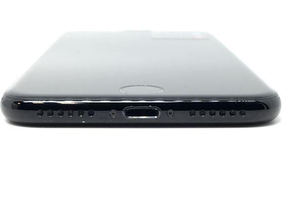 【中古】【安心保証】 SoftBank iPhone7[128G] ジェットブラック